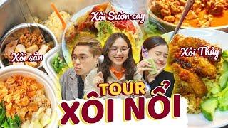 Tour XÔI NỔI – Khám phá những hàng xôi đình đám ở Hà Nội