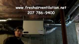 How to Clean a Fantech 1504 HRV air exchanger
