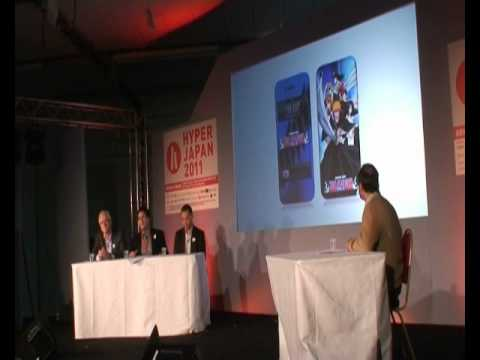 JETRO Japanese Multimedia Seminar @ HYPER JAPAN 2011: Mr. A. Partridge, Kaze (Viz Media) (4 of 9)