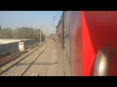 Full journey compilation between Gwalior and New Delhi in AP AC Express