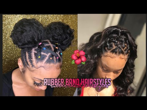 rubber-band-hairstyles-🌺