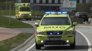 [Dutch Rental Ambulance] MUG & Ambulances responding code3 in Antwerp! #332