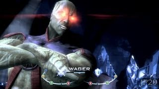 Injustice: Gods Among Us All Martian Manhunter  Dialogues