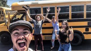 We Won The Bus!!