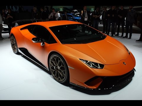 2018 Lamborghini Huracan Performante First Look - 2017 Geneva Motor Show