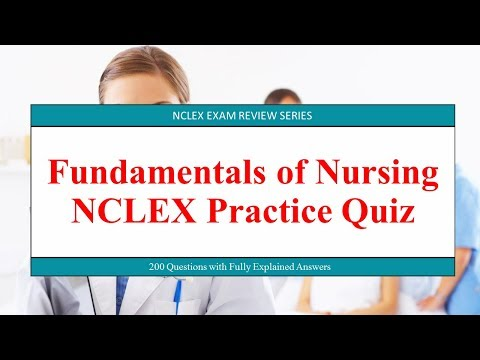 Fundamentals Of Nursing NCLEX Practice Quiz YouTube