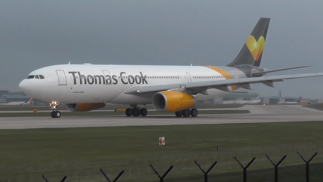 Thomas Cook A330 200 G Vygk Takeoff From Manchester