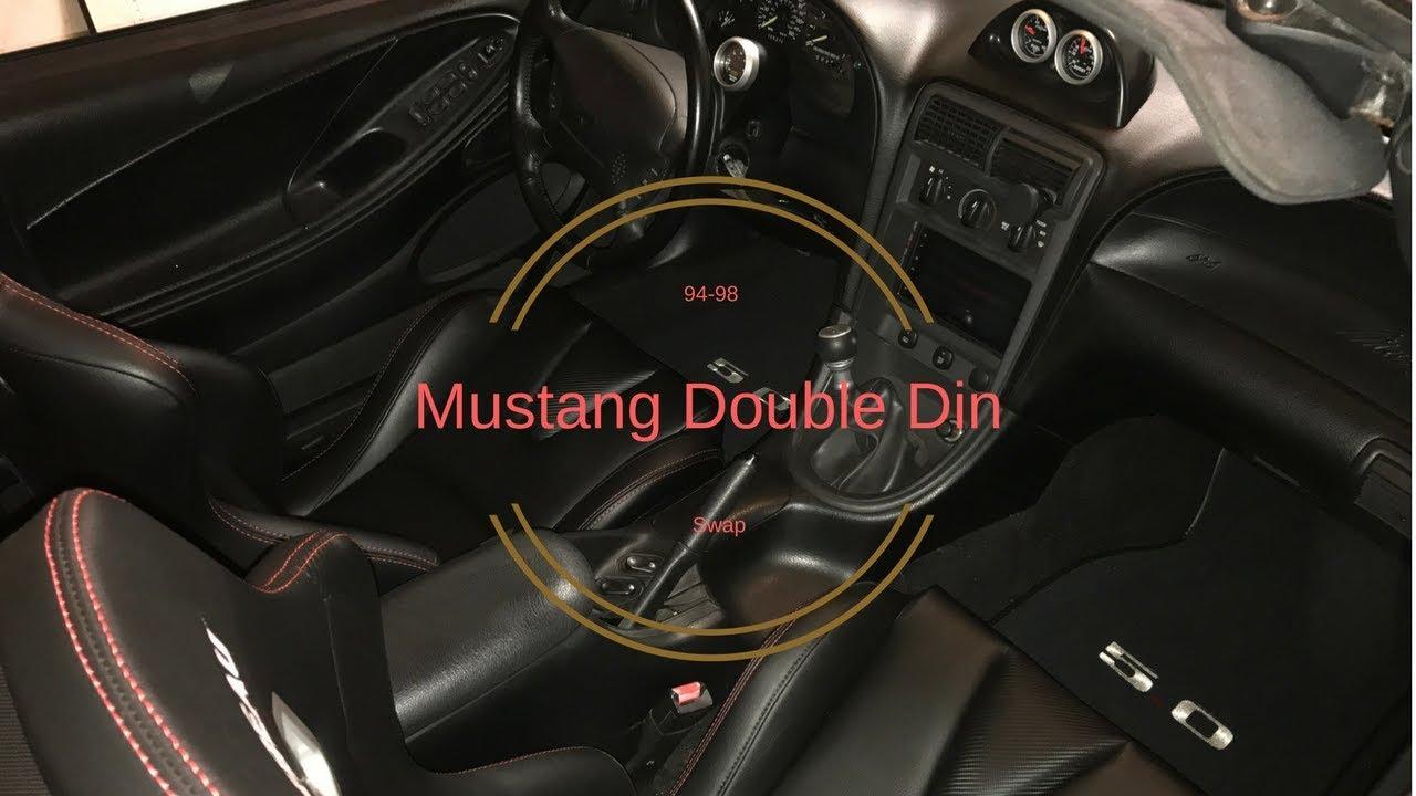 hight resolution of 94 98 mustang sn95 double din walkthrough