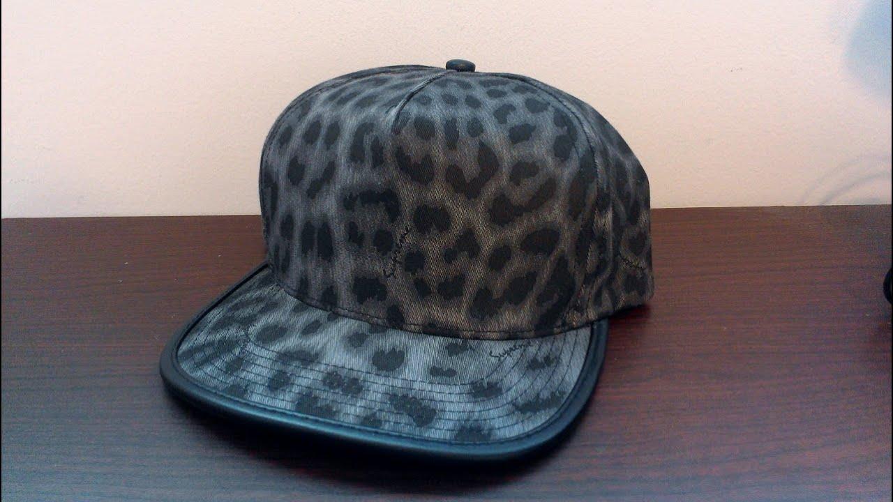 Supreme Leopard Black 5 Panel Review Spring Summer 2011 Leather Trimmed  Strapback 654ba1c613f6