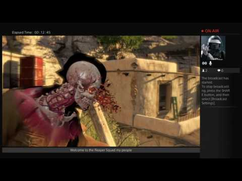 Sniper elite 3 gameplay  Reaper Squad commander/ difficulty is set to Sniper elite