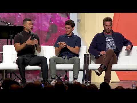 Wilson Cruz on Star Trek Interracial Gay Relationship