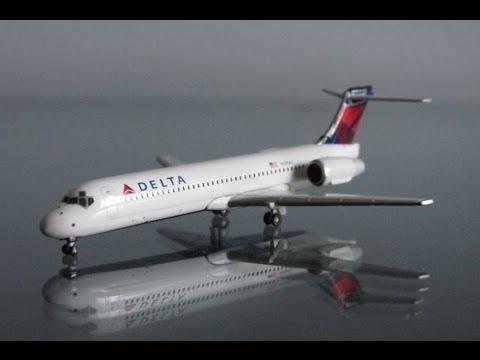 Unboxing Geminijets Delta Airlines Boeing 717200 1400