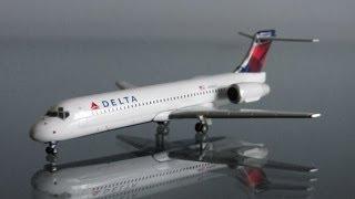 Unboxing: Geminijets Delta Airlines Boeing 717-200 (1:400)
