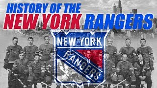 The History of the New York Rangers