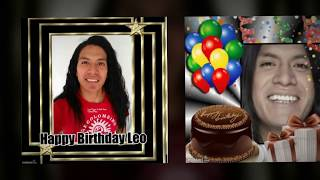 Leo Rojas-Vamos a Bailar// Happy Birthday from fans