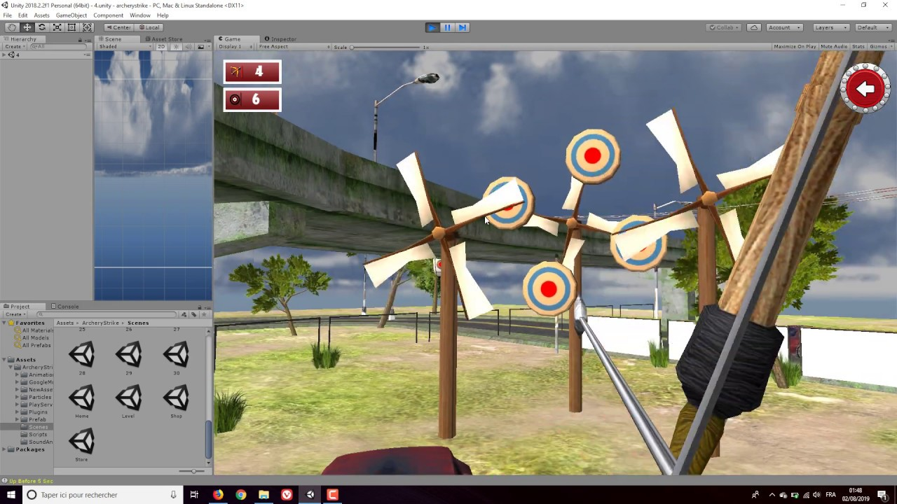 Archery Strike Unity Source Code | Codecanyon Cheap