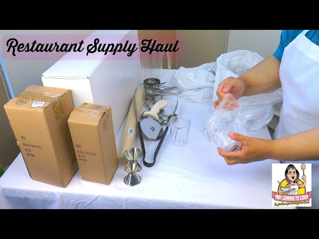 Restaurant Supply Haul ~ Cookware and Kitchen Gadgets ~ Fortessa Outlet ~ Amy Learns to Cook