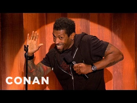 """After-Hours Stand-Up: Deon Cole Won't Answer All Your """"Black"""" Questions - CONAN on TBS"""