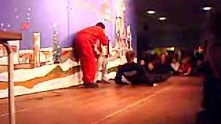 David Owe's stunt performance 3