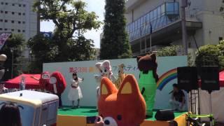 5/17東京都調布市駅前 第23回調布観光フェスティバル 近代五種・水泳.