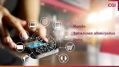CGI Rondo Sähköinen allekirjoitus -demo