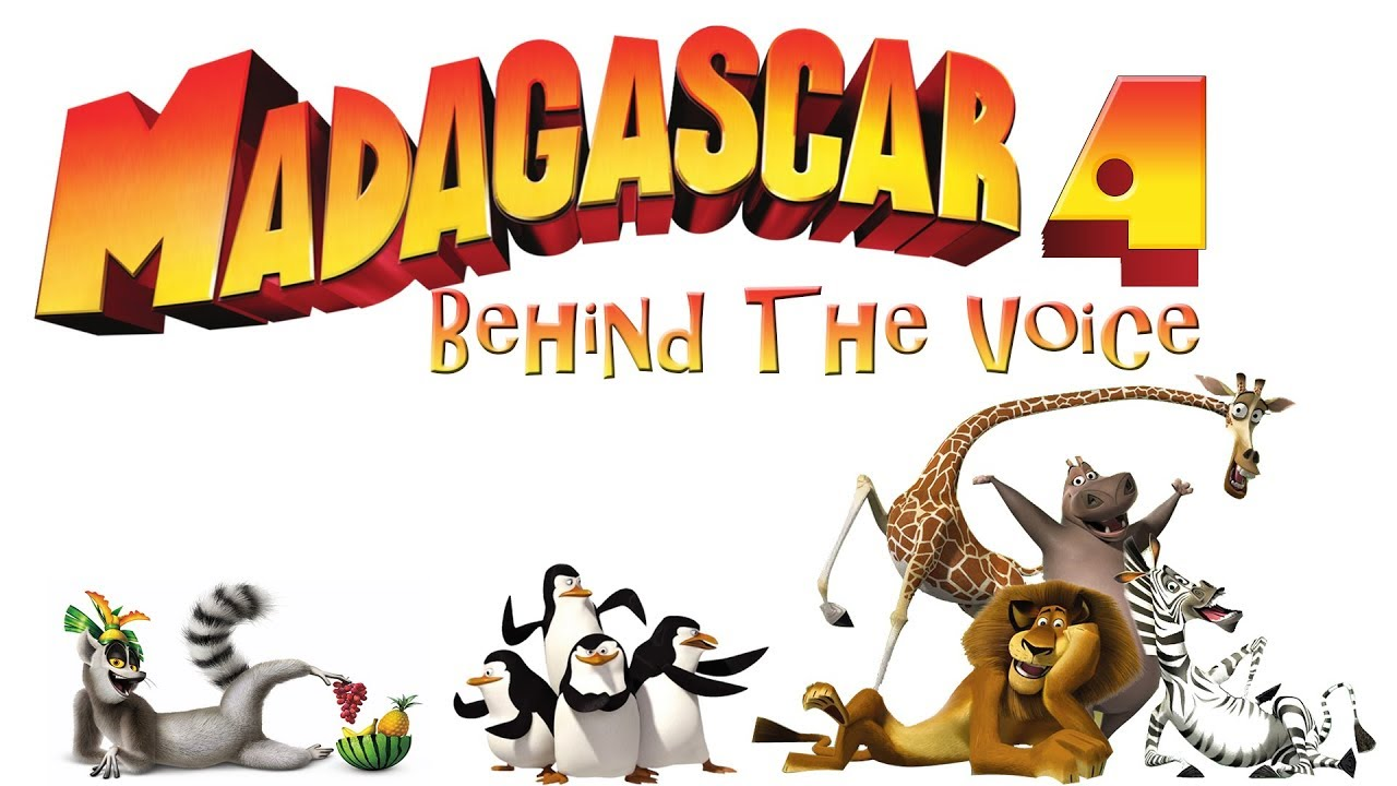 Madagascar 4 Movie 2018 Behind the Voice - Madagascar 4 Movie Voice Actors  2018