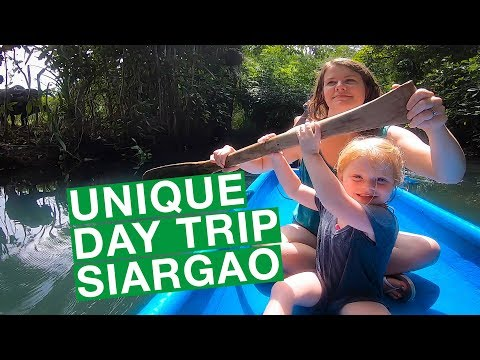 Unique Day Trip Siargao Philippines | FAMILY TRAVEL