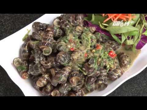 VTC14 | Ốc len xào dùa: Món ăn không chỉ ngon mà còn lành