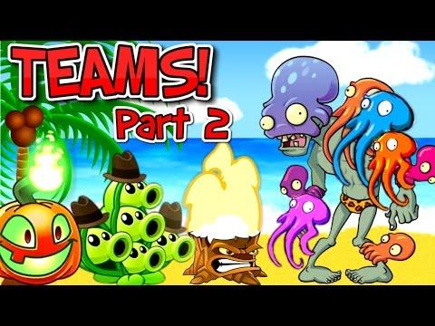 Plants vs. Zombies 2 OCTO ZOMBIE vs Team Plants PART 2 ✔
