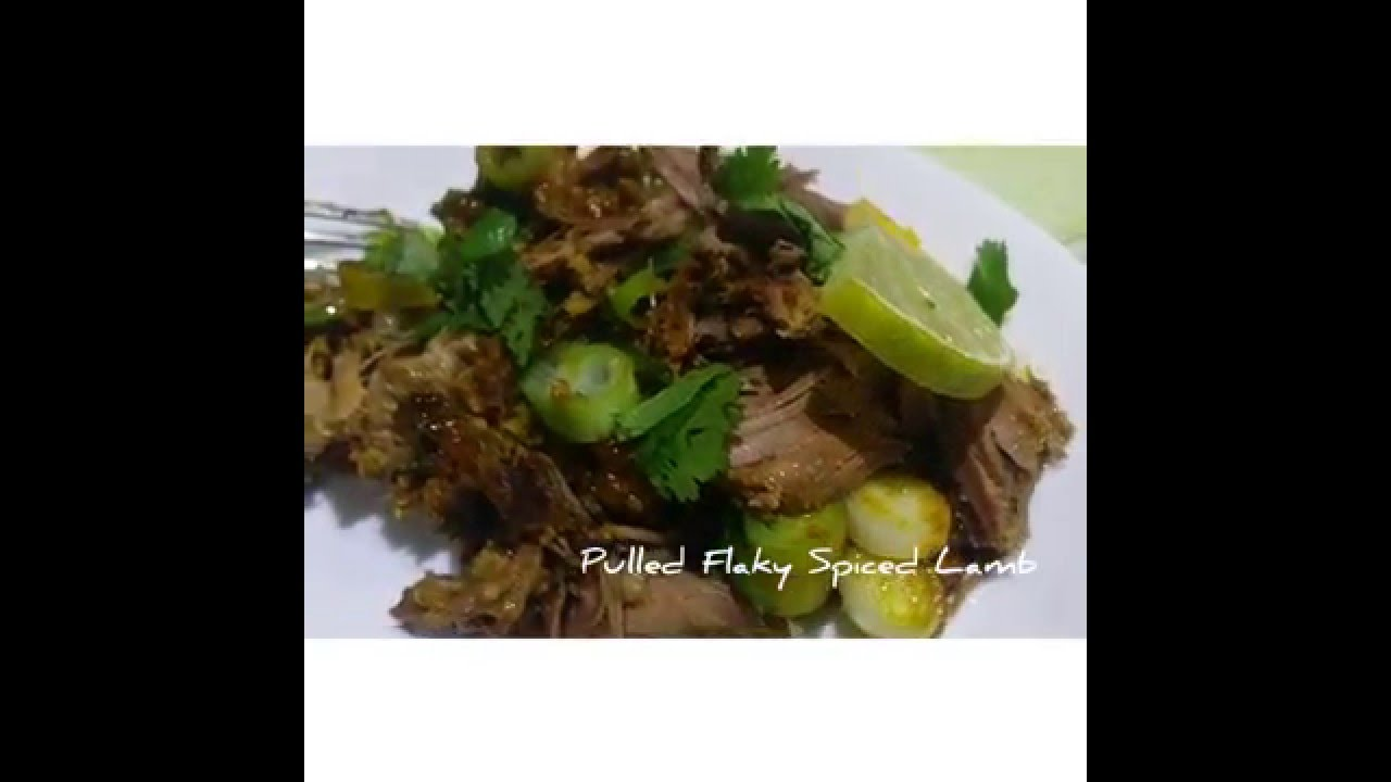 Indian Spiced Roast Leg Of Lamb