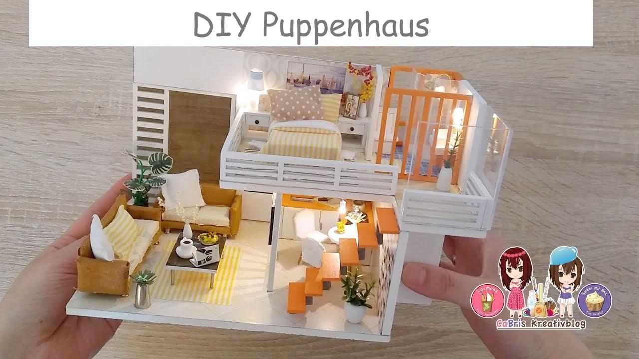 Diy Miniatur Puppenhaus Mit Led Licht Ein Puppenhaus Zum Selber Bauen