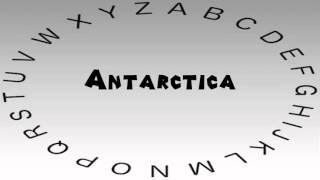 How to Say or Pronounce Antarctica