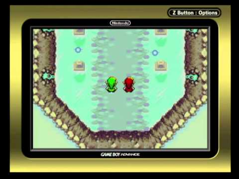 The Legend Of Zelda: Four Swords (GBA) (beat The Game)