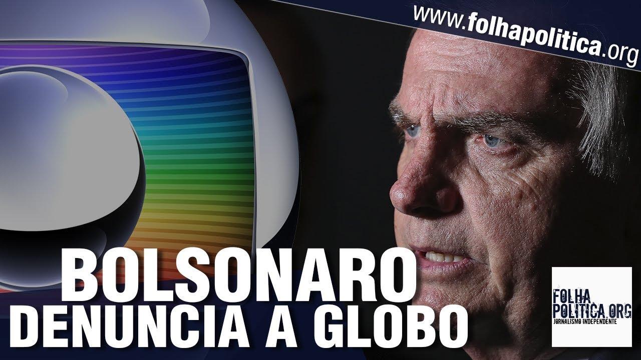 Resultado de imagem para Bolsonaro denuncia a Globo, esculacha Folha de São Paulo, detona Lula e desmente jornalista!