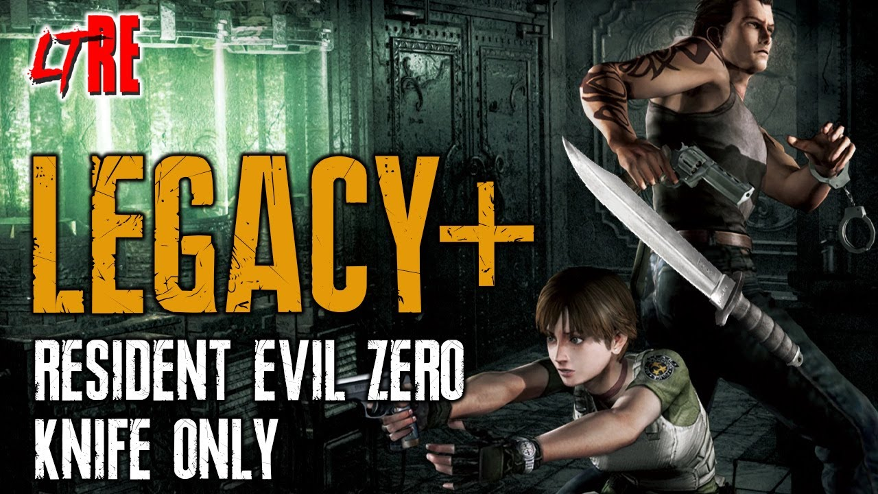 RESIDENT EVIL ZERO Knife Only - LEGACY PLUS LIVE STREAM PART 2