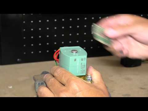 How To Replace an ASCO Solenoid Valve Coil