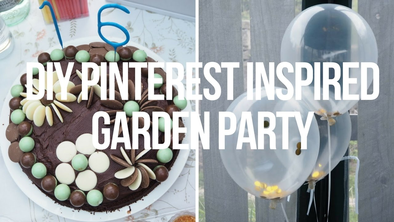 Summer Diy Pinterest Inspired Garden Party Ideas Laurenmthwaites
