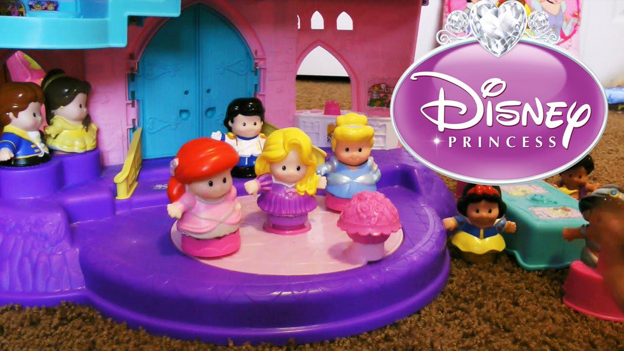 disney princess little people songs palace castle youtube