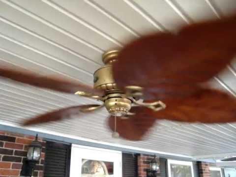 Hampton Bay Antigua 52 Quot Ceiling Fan Youtube