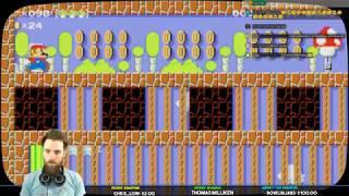 Super Mario Maker [LIVE] \\ Mario Kart 8 Deluxe \\ Zelda LTTP Race