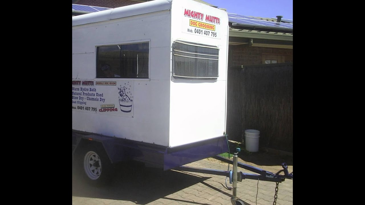 Mobile Dog Grooming business for sale - YouTube