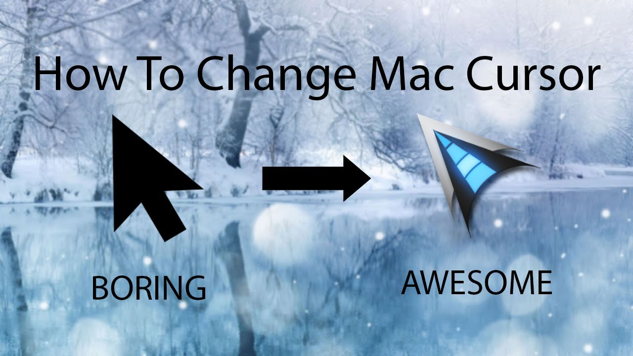 How to Change Your Mac Cursor + Animated Cursors 2019 (Mac)