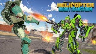 Helicopter Robot Game - Robot Transformation 2018 (By Gamerz Studio Inc.) Gameplay HD