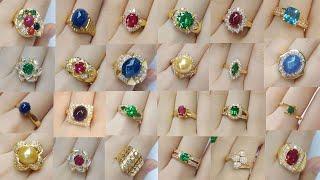 Harika Tasarım Altın Yüzükler 2018 Model Women Latest Gold Ring Designs Simple GoldRing designs