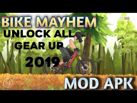 Bike Mayhem Mod Apk 2019 Unlock All Gear Up