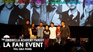 Q&A Panel - The Umbrella Academy Parody LA Fan Event