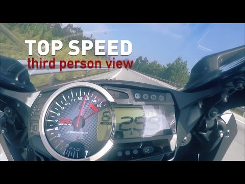 CBR600rr TOPspeed - Third person view