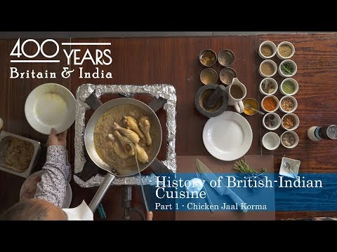 Learn the history of Indian cuisine by cooking a 17th Century curry!    400 Years