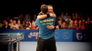 ITTF Legends Tour Highlights: Jan-Ove Waldner Vs Jean Michel Saive (FINAL)