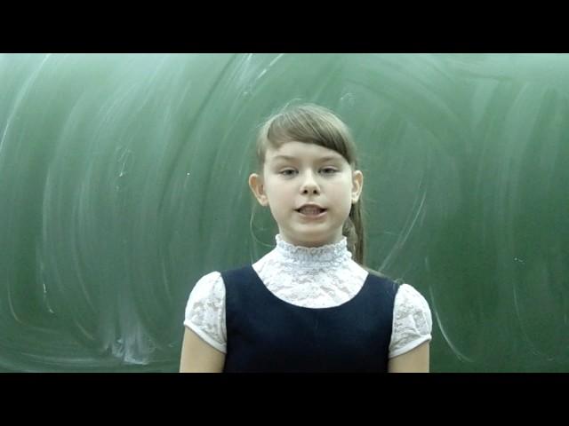 Изображение предпросмотра прочтения – АринаЛоншакова читает произведение «Ворона и Лисица» И.А.Крылова